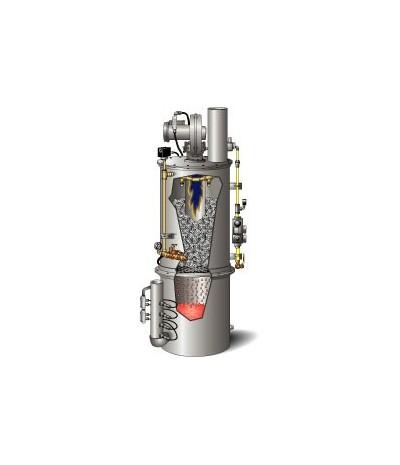 ARMSTRONG - Ταχυθερμαντήρας (λέβητας) νερού άμεσης επαφής φλόγας-νερού