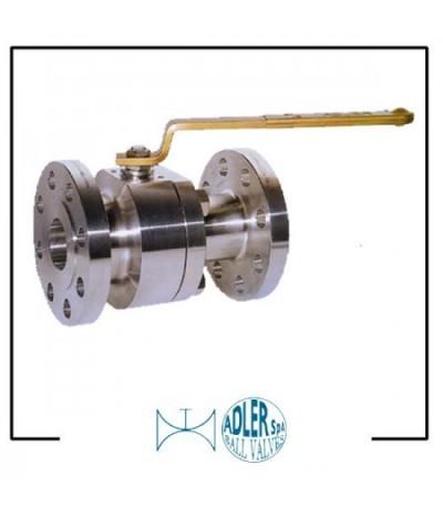 ADLER- Ball valves flanged split body