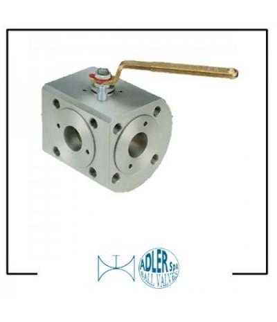 ADLER- Ball valves 3 way