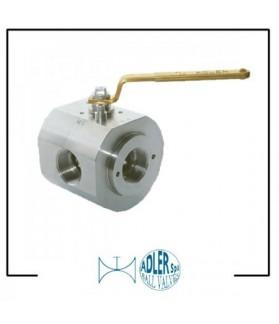 ADLER - Ball valves 4 way