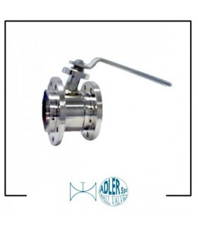 ADLER - Ball valves end tank execution