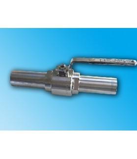 ADLER - Ball valves with welding nipples