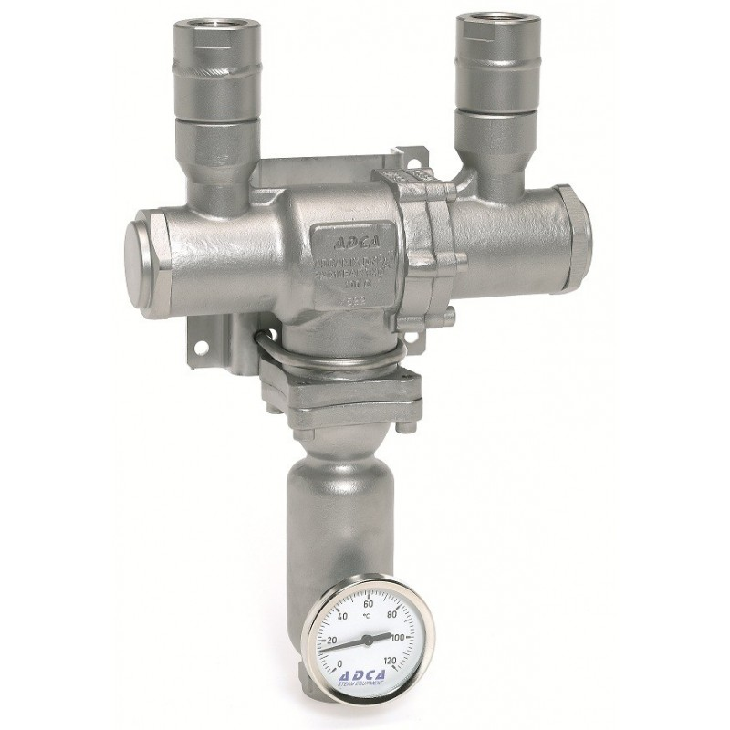 U Type Chrome Electric Water Heater Mixing Valve Single: VALSTEAM ADCA - Mixing Valves
