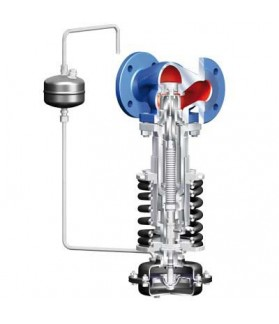 ARI - Excess pressure regulator / back pressure sustaining valves PREDEX