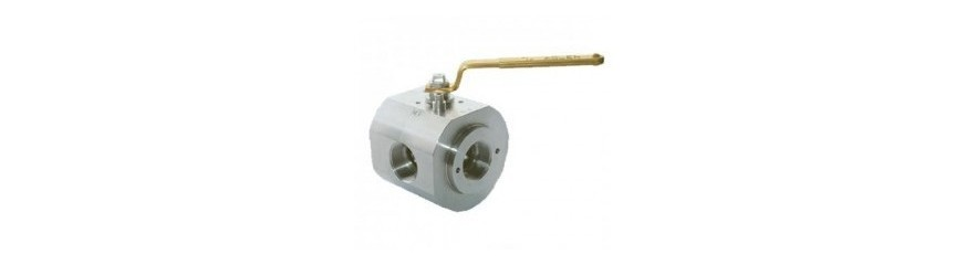 Ball Valves 4-Way